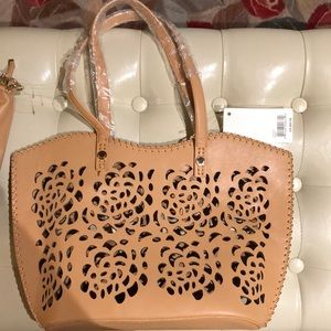Big Buddha 2 bags-tote AND crossbody NEW with tags